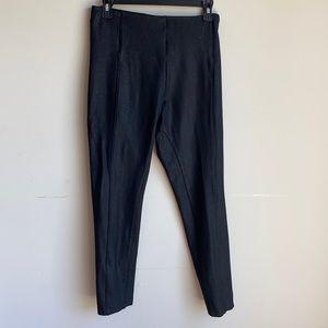 LYSSE black shimmer pull on pointe leggings medium